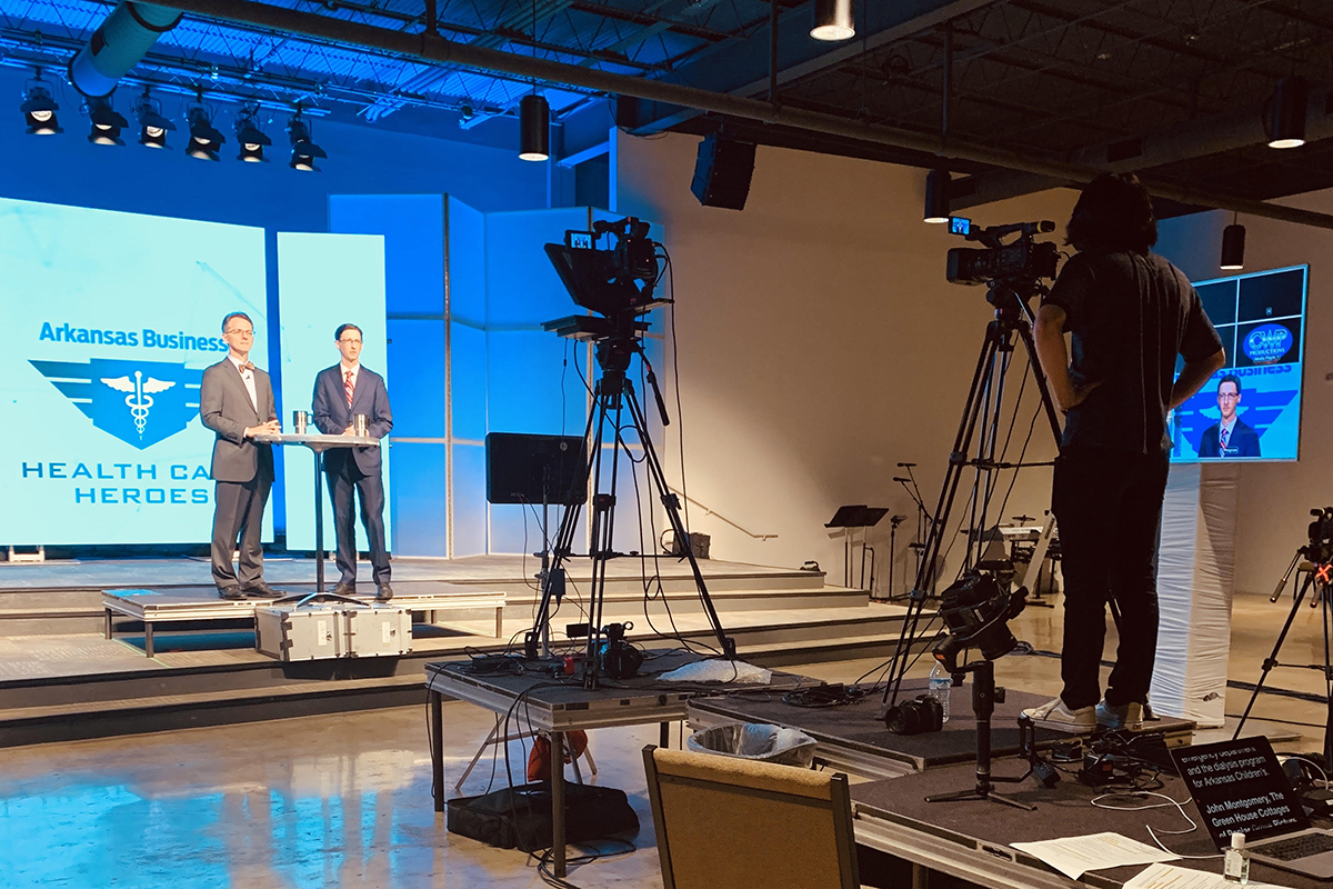 CWP Productions Keeping Business 'As Usual' with Audiovisual Tech