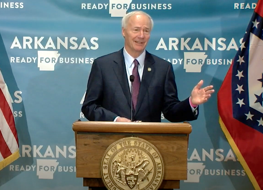 Asa Hutchinson: Rolling Back Reopening Not An Option