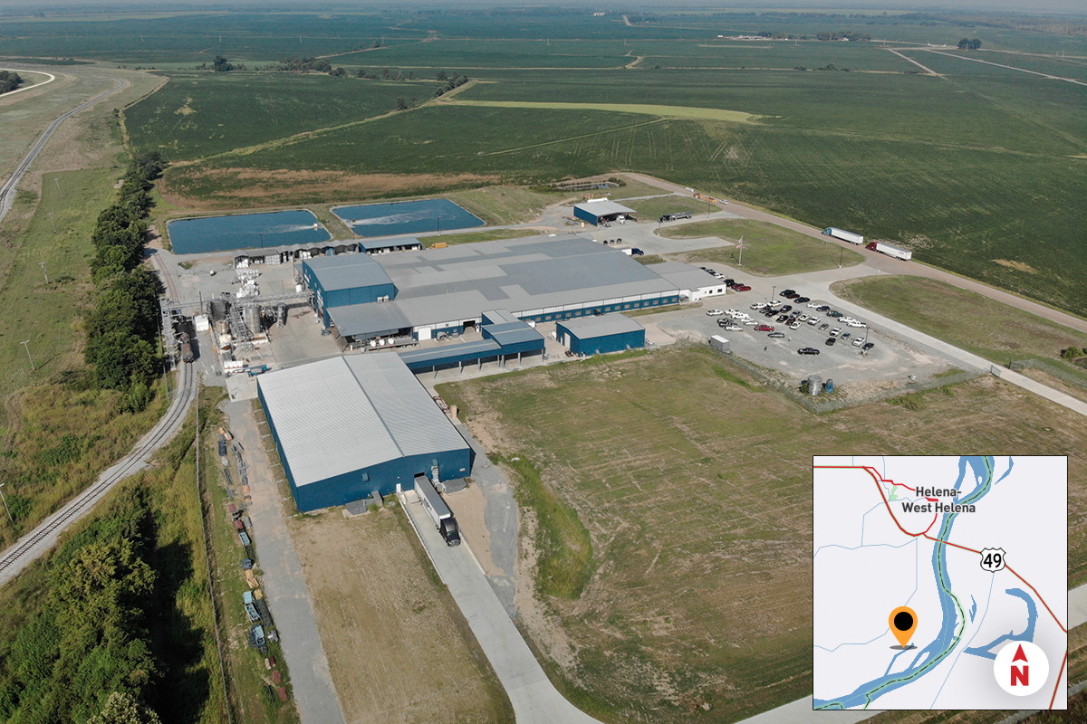 Since Enviro Tech Chemical Services opened its Phillips County plant in 2015, employment has grown to 120.