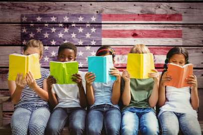 Clinton Center's Read, White, & Blue Book Giveaway