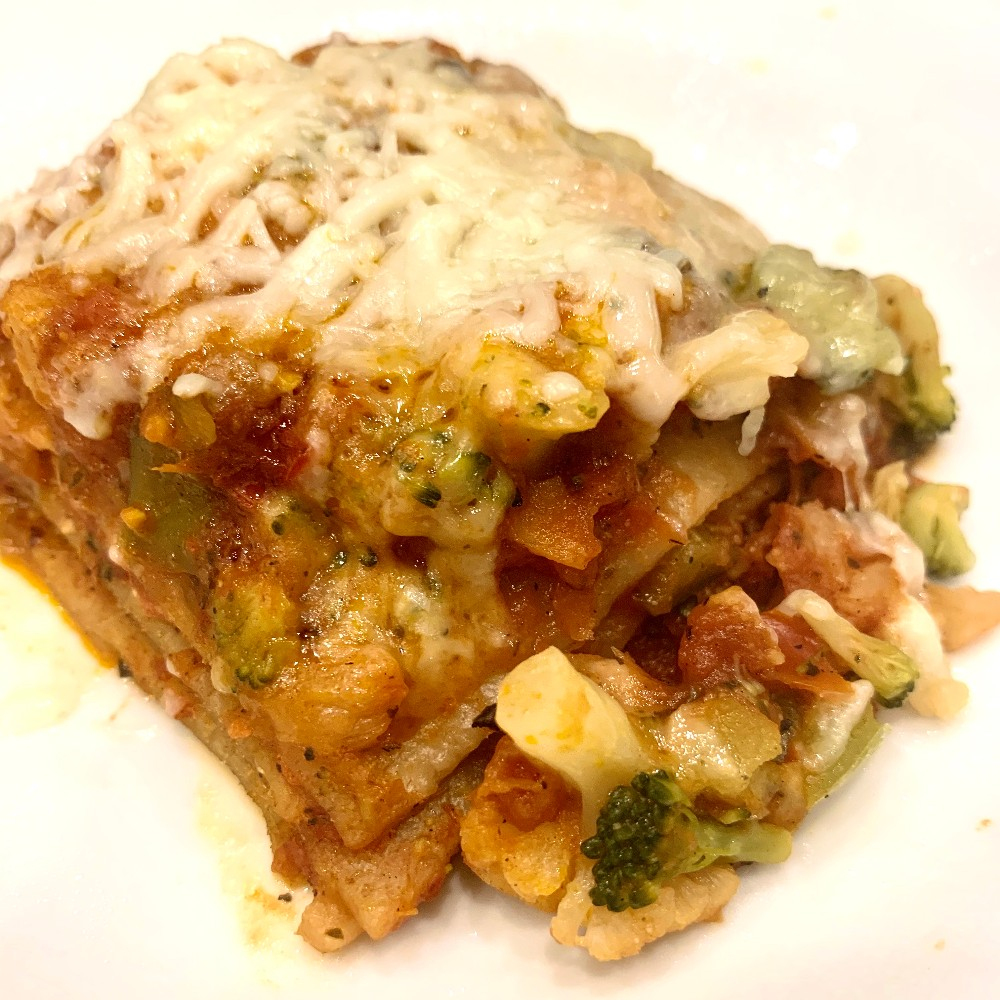 From Z to A: Roasted Vegetable Lasagna Recipe