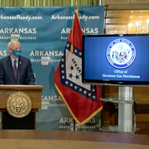 Gov. Asa Hutchinson Issues Statewide Mask Order