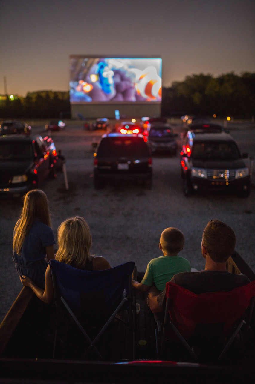 112 Drive-In movie theater