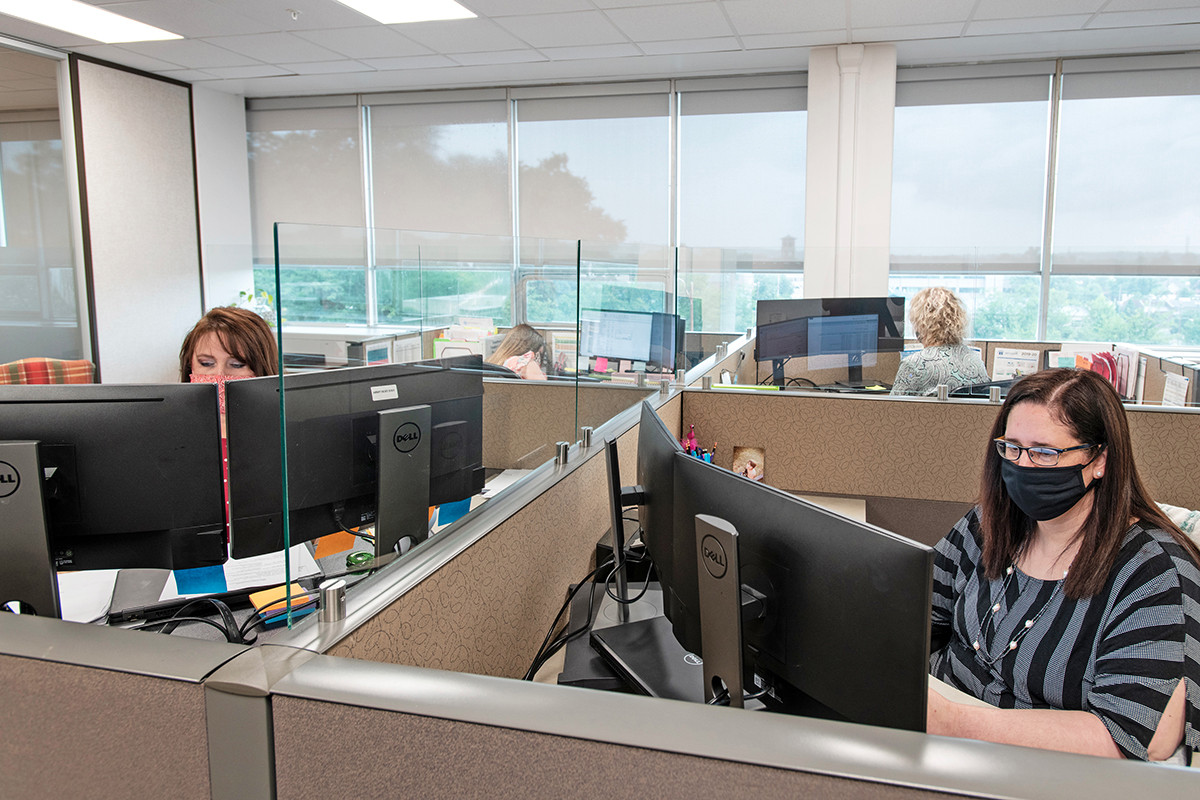 Building Office Walls Gains in Workplace Significance