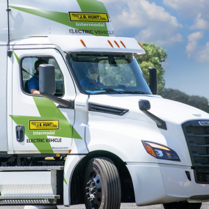 J.B. Hunt Starts Electric Tests