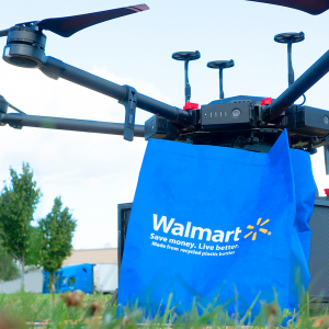 Walmart Tests Drones for Deliveries in North Carolina City