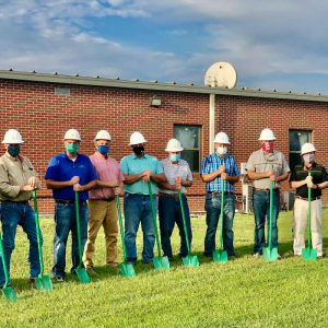 Viola Schools, Today's Power Break Ground on Solar Array