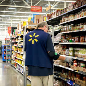 Walmart Workers Seek Pay for COVID-19 Screenings