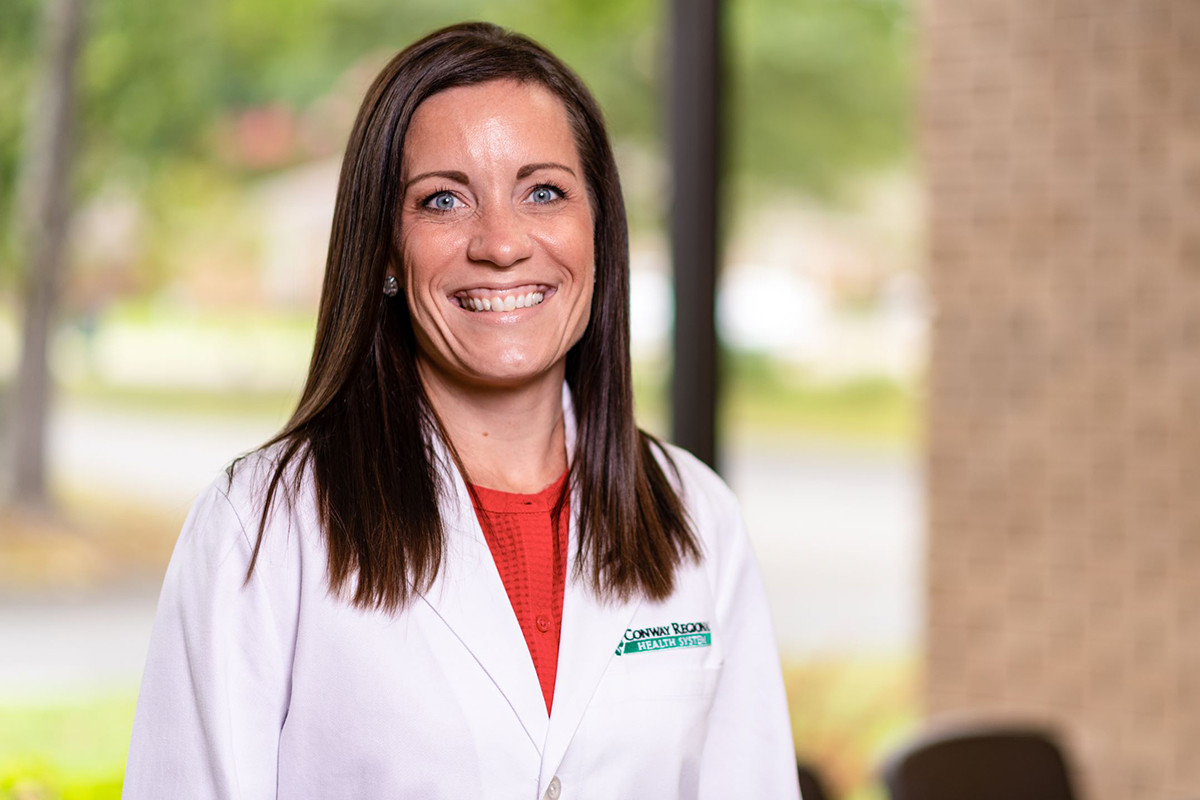 Jessica Strack of Conway Regional Health System