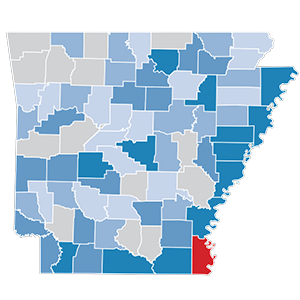 Arkansas Unemployment: Metro vs. Rural Areas