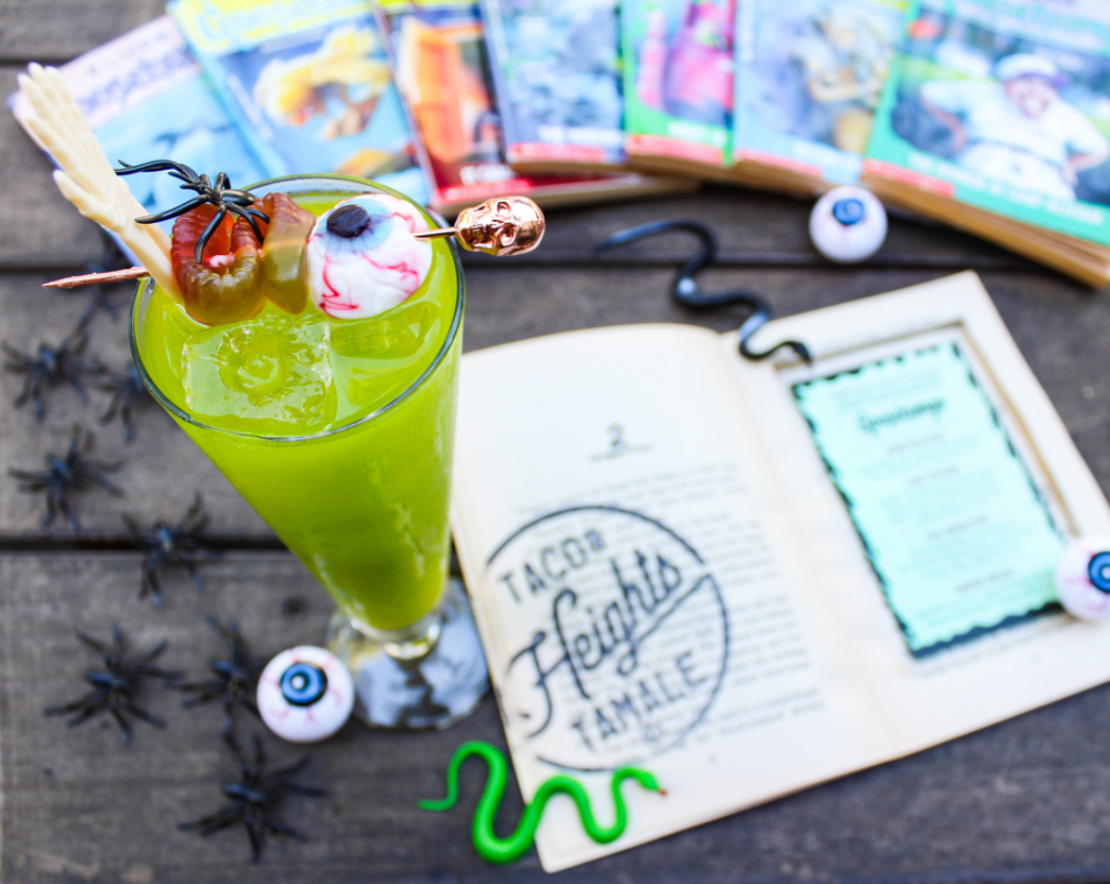 Heights Taco & Tamale Co. Goosebumps Cocktails - Monster Blood