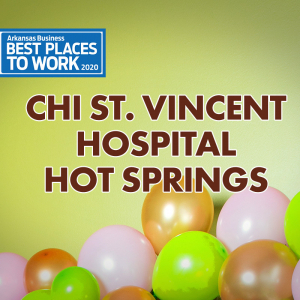 Best Places to Work: CHI St. Vincent Hot Springs