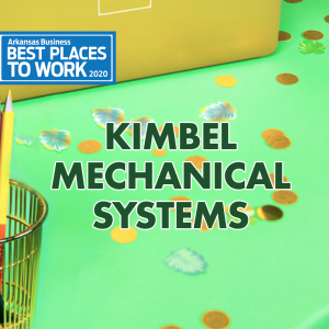 Best Places to Work: Kimbel Mechanical Systems Inc.
