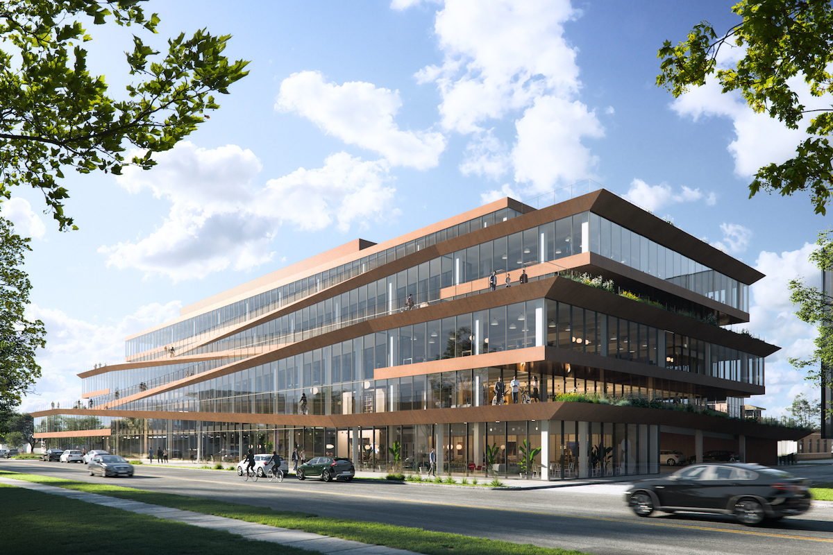 Office Project Advances Without WeWork
