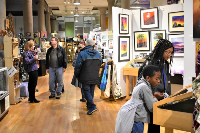SPONSORED: Art is a Gift: Holiday Shopping at Library Square
