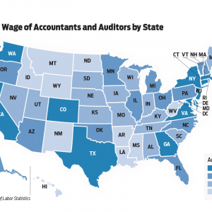 Accountants, Auditors in Arkansas Earn Below National Average