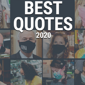 'You Know, It Sucks': Best Quotes of 2020