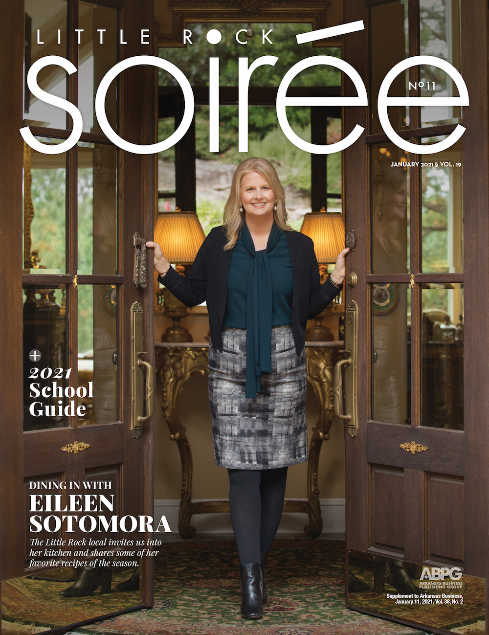 Soiree cover January 2021
