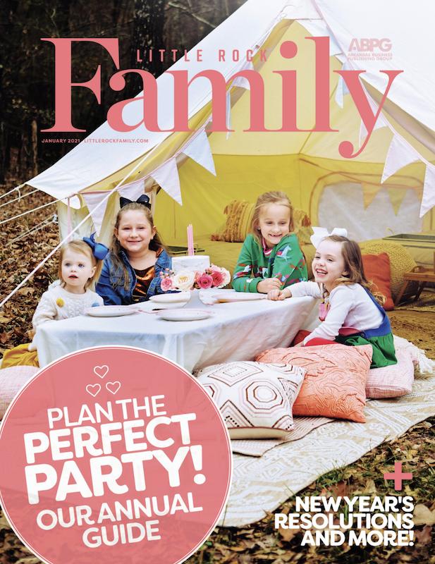 Little Rock Family January 2021 Cover