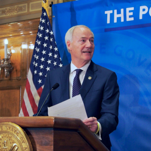 Asa Hutchinson Signs Near-Total Abortion Ban Into Law