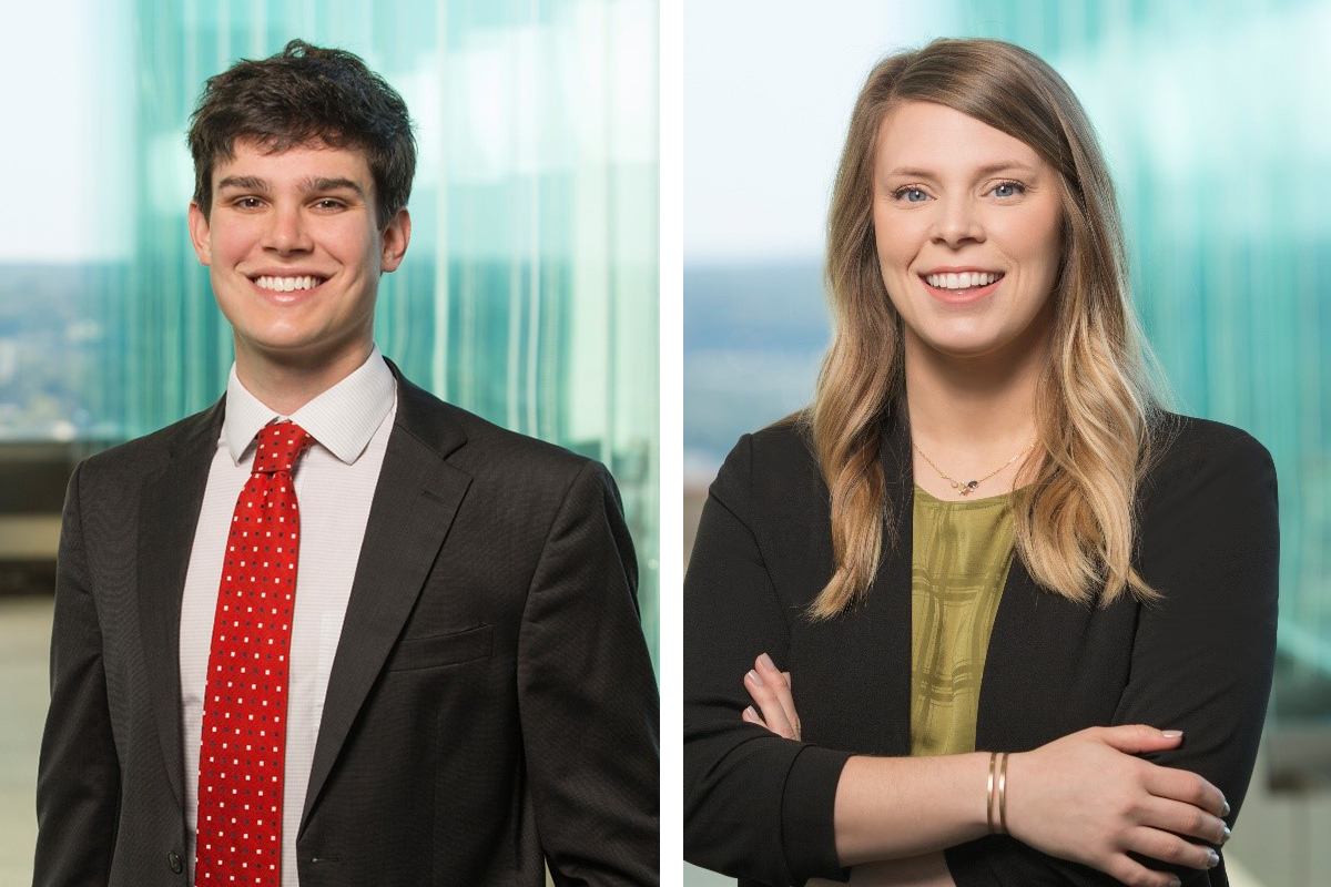 Hickman, Howlett Hired at Wright Lindsey Jennings (Movers & Shakers)