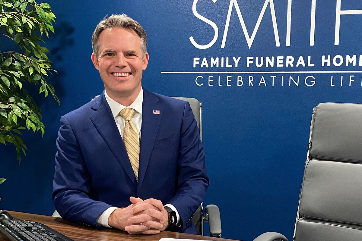 Jeff Smith says his six central Arkansas funeral homes saw a 28% surge in deaths in November, December and January.