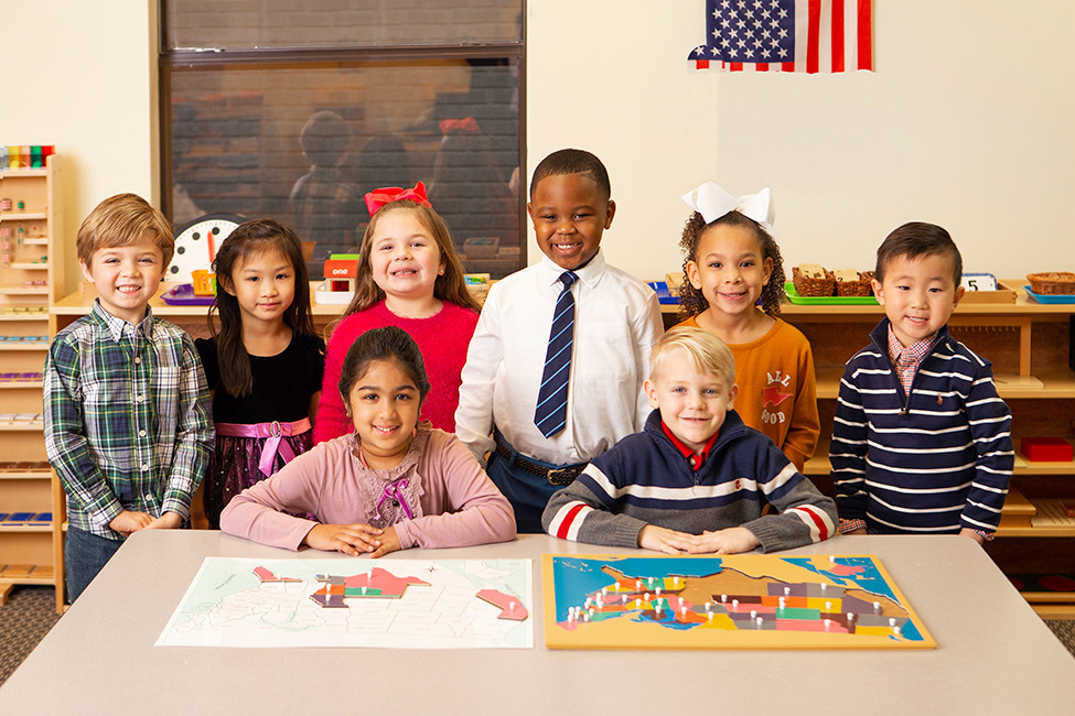 Soiree Loves Local 134791 Montessori students