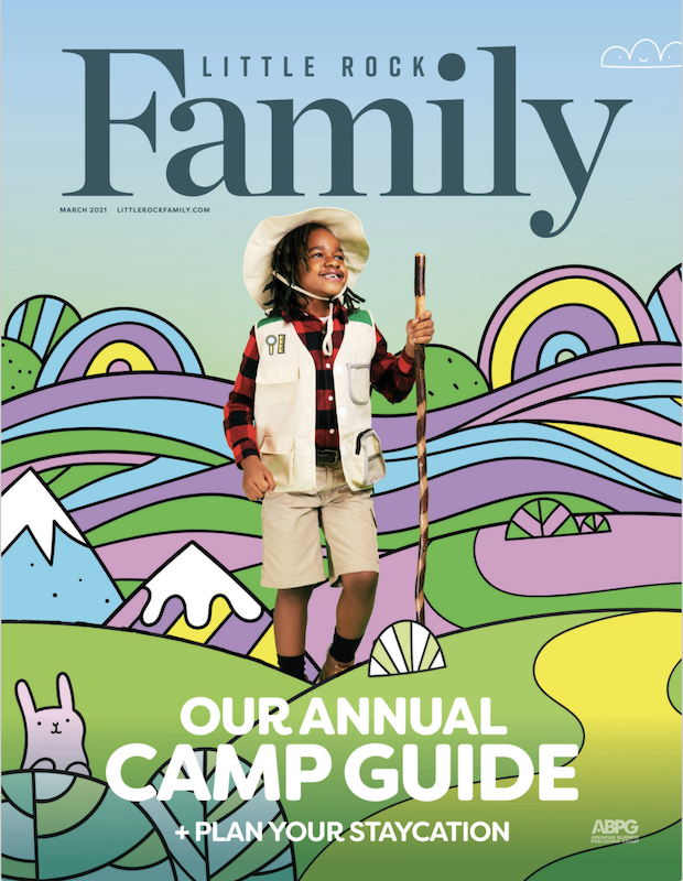 March 2021 Little Rock Family Cover