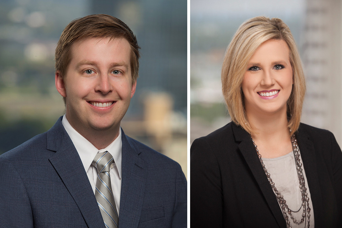 David Biscoe Bingham and Ashley Gill of Mitchell Williams Selig Gates & Woodyard in Little Rock