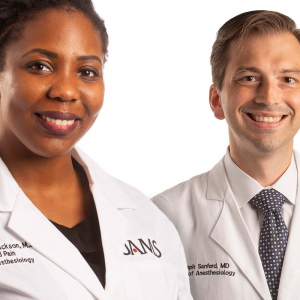Jackson, Sanford of UAMS Take New Roles (Movers & Shakers)