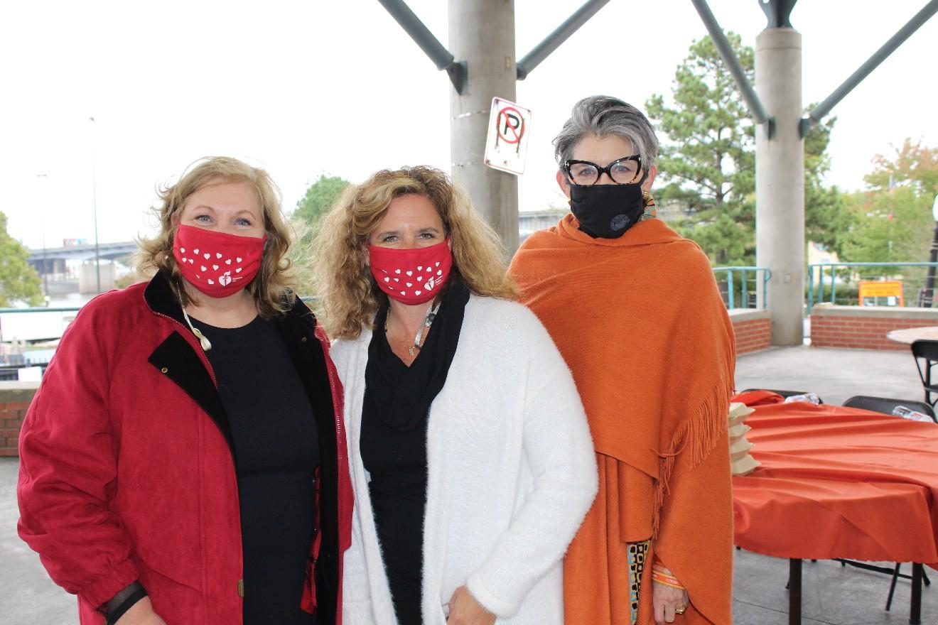 Tammy Quick, Meredith Johnson, Joyce Taylor