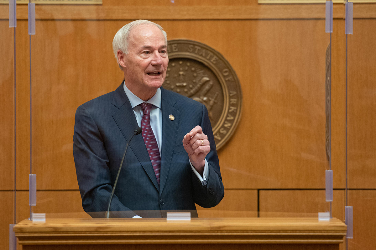 Asa Hutchinson Vetoes Transgender Youth Treatment Ban