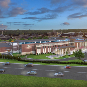 New North Little Rock Justice Center Gets Roadside Home