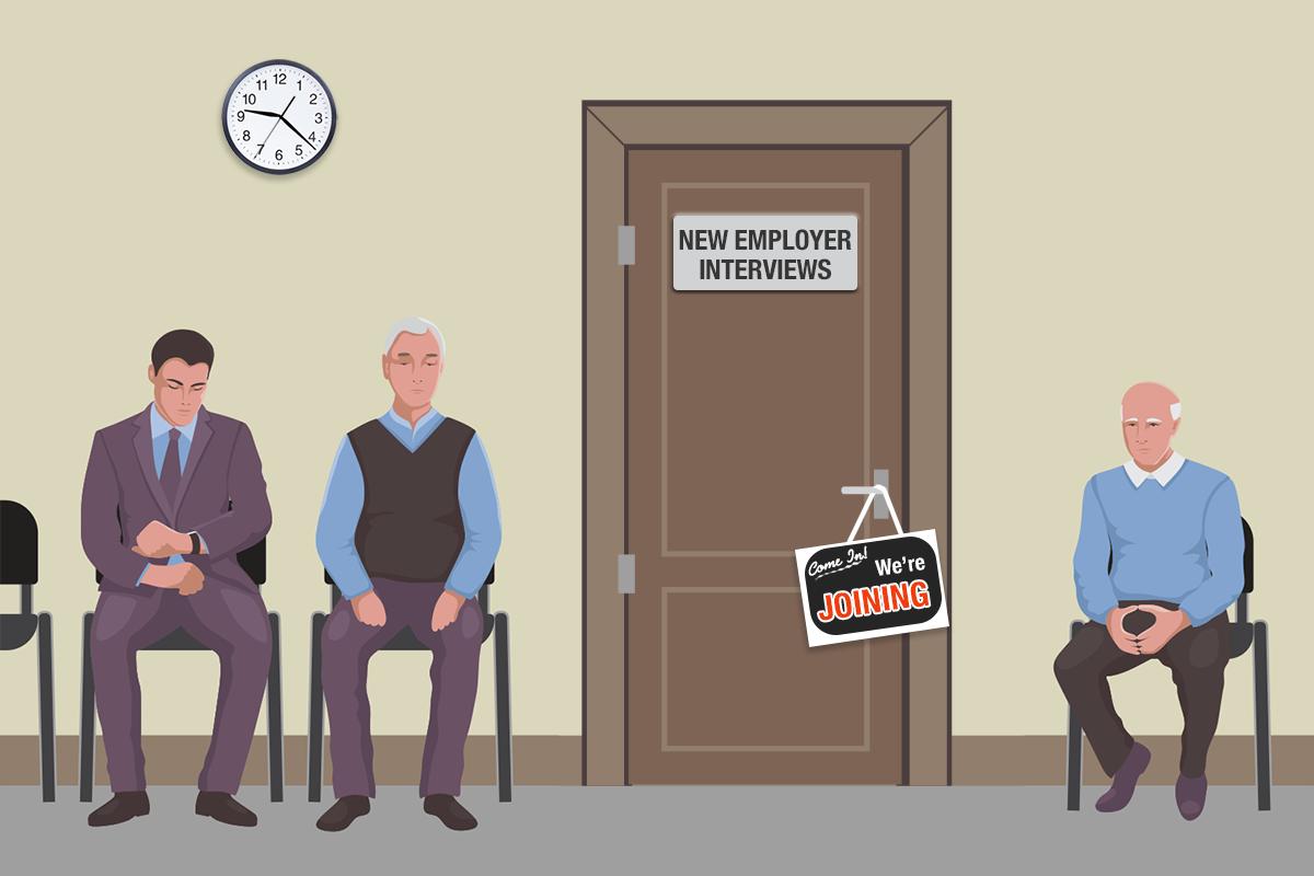 It's Called A Job Market (Gwen Moritz Editor's Note)