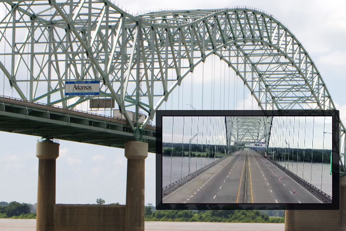 1st Step of I-40 Bridge Repair Complete; Span Remains Closed