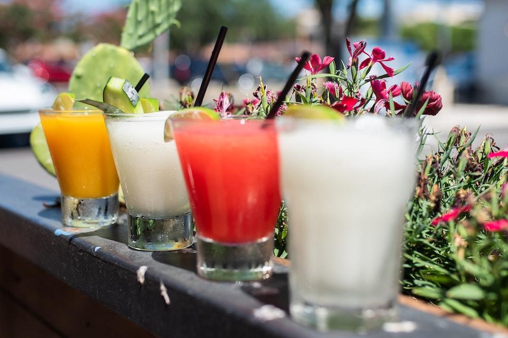 margaritas cocktails