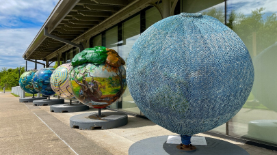 'Cool Globes: Hot Ideas for a Cooler Planet' Heats Up the Clinton Center