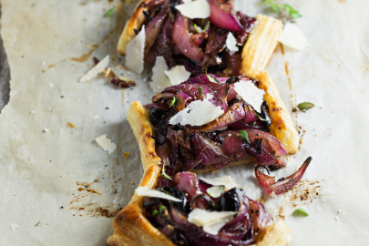 From Z to A: Vidalia Onion Tart + Coconut Lime & Cilantro Chicken Recipes