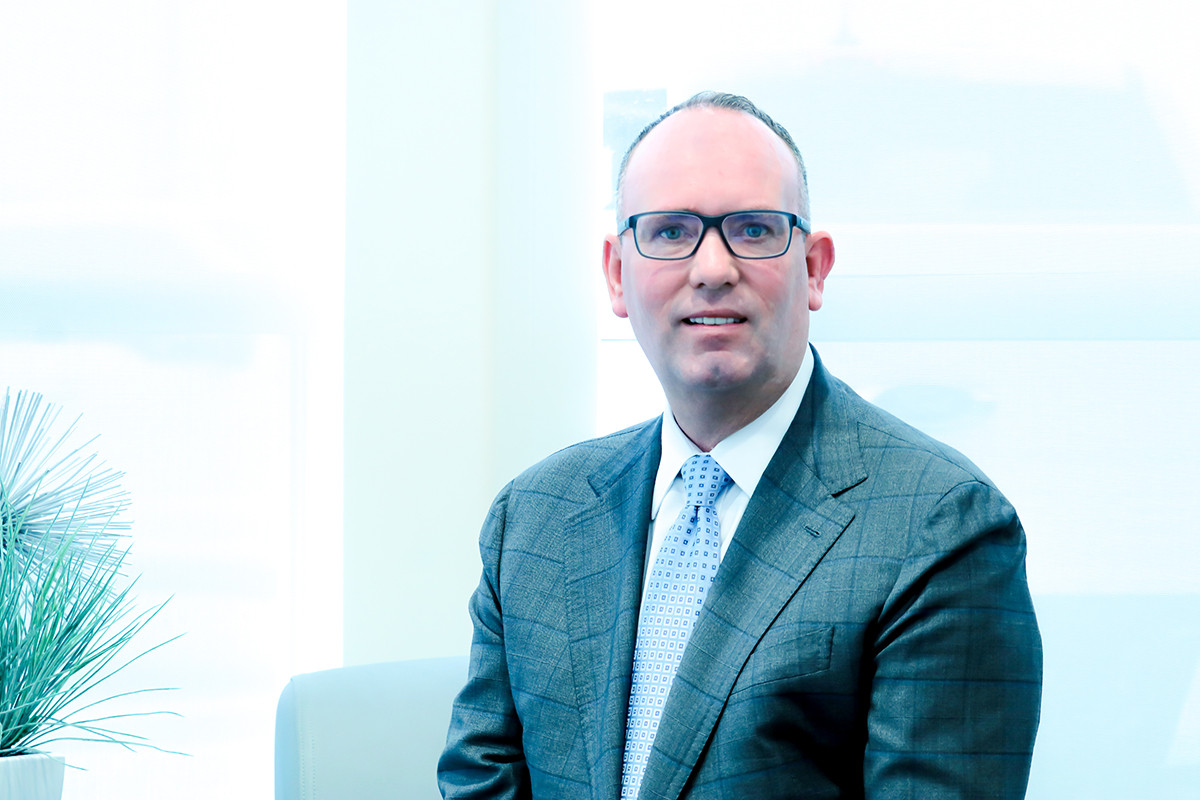 Russ Daniel, managing partner of McLarty Daniel