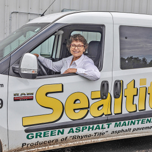 Mulberry Firm Goes 'Green' With Nontoxic Asphalt Sealer