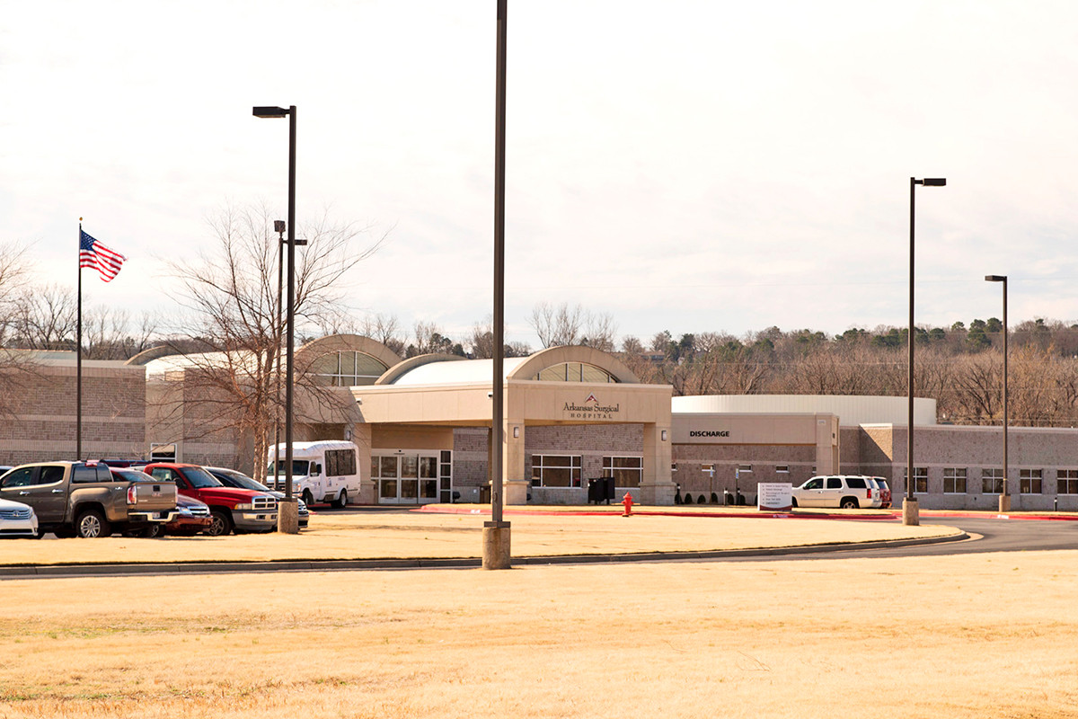 Arkansas Surgical Hospital at 5201 Northshore Drive in North Little Rock