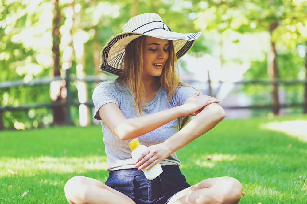 sunscreen, sunblock, SPF, summer