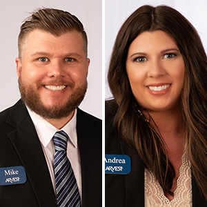 Damron, Jobe Join Arvest in Conway (Movers & Shakers)