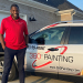 Engineer From Cameroon Opens 360° Painting in Little Rock