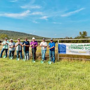 Today's Power Building Array for Ozark Mountain Schools
