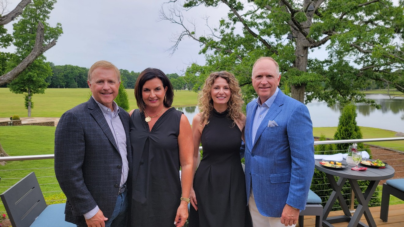 Mark and Rhea Middleton, Cara Brookins, Larry Middleton