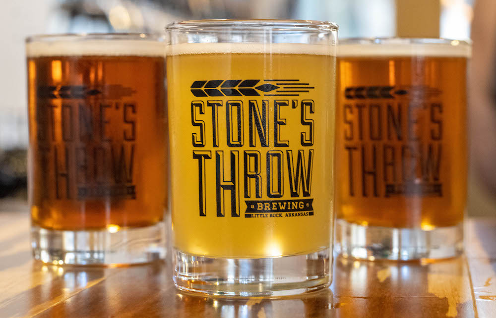 Stone's Throw Brewing, local beer
