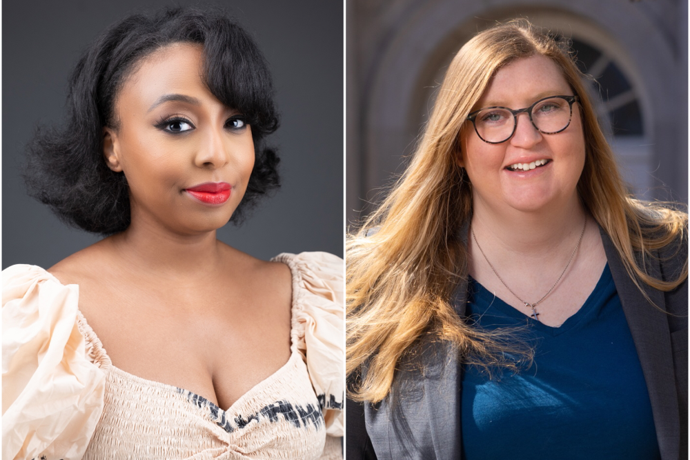 Oxford American editor-in-chief Danielle A. Jackson and executive director Dr. Sara A. Lewis