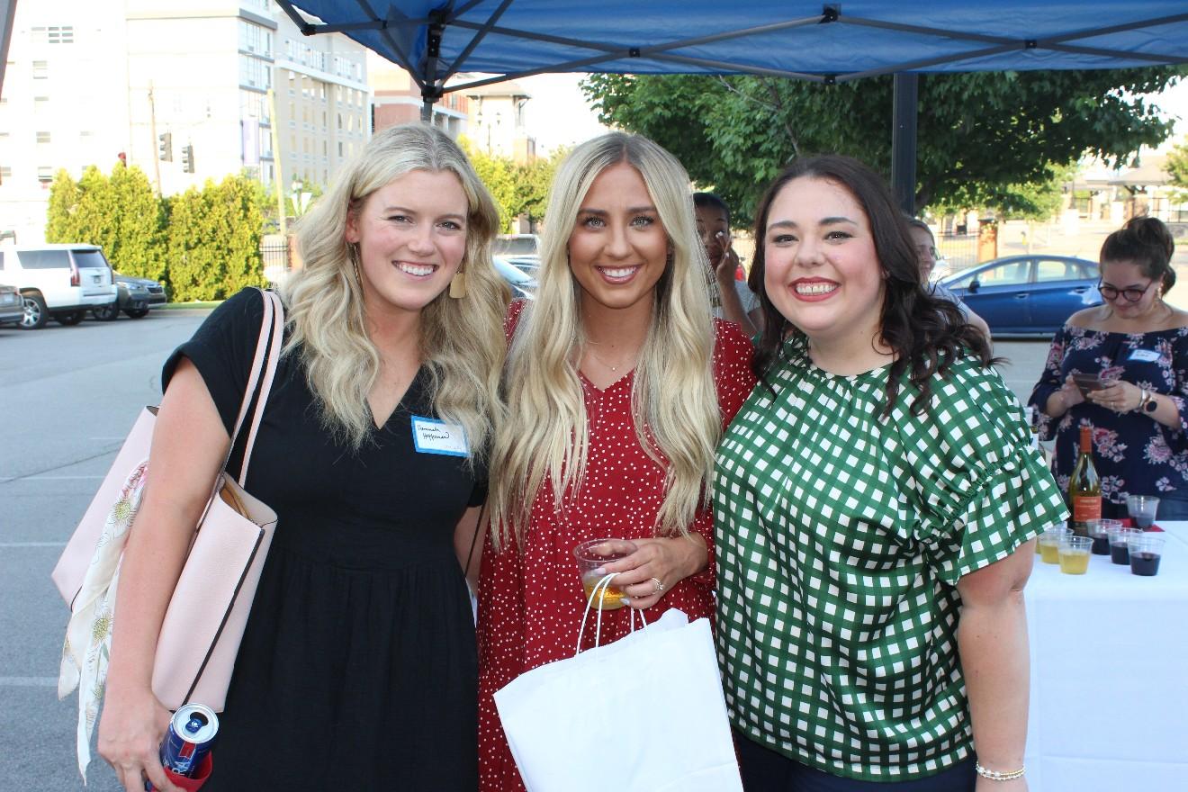 Hannah Heffernan, Kealy Jennings, Katie Vereen
