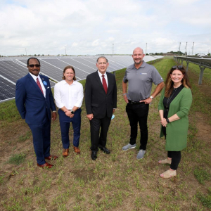 Lexicon and Seal Show Off Blytheville Array Made With Arkansas Steel